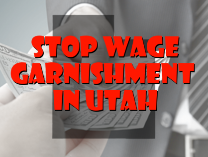 Stop Wage Garnishment in Utah